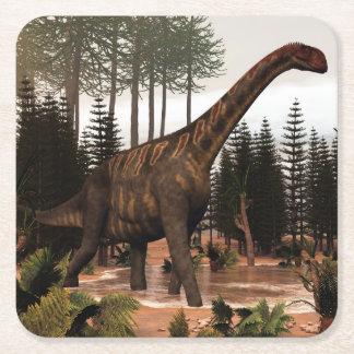 Porta-copo De Papel Quadrado Dinossauro de Jobaria - 3D rendem
