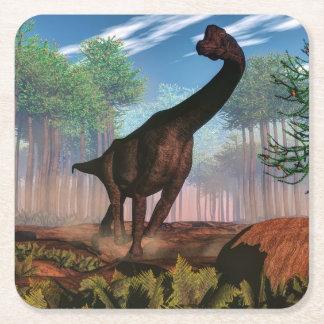 Porta-copo De Papel Quadrado Dinossauro do Brachiosaurus - 3D rendem