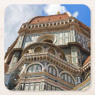 Porta-copo De Papel Quadrado Domo, em Florença, Toscânia, Italia