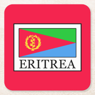 Porta-copo De Papel Quadrado Eritrea