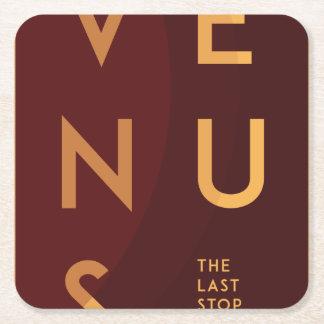 Porta-copo De Papel Quadrado Espaço - porta copos de papel de Venus