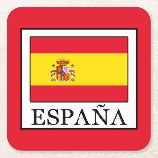 Porta-copo De Papel Quadrado España