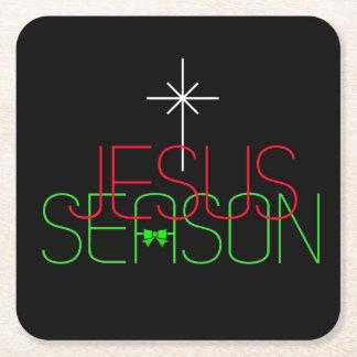 Porta-copo De Papel Quadrado Estação de Jesus