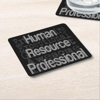 Porta-copo De Papel Quadrado Extraordinaire profissional dos recursos humanos