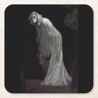 Porta-copo De Papel Quadrado Fantasma gótico