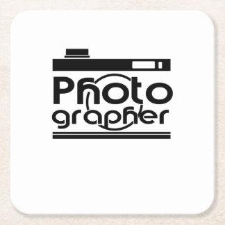 Porta-copo De Papel Quadrado Fotografia legal do presente do fotógrafo