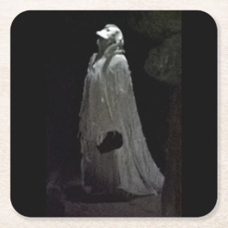 Porta-copo De Papel Quadrado Ghoul gótico