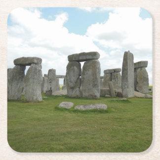 Porta-copo De Papel Quadrado Grupo da porta copos de Stonehenge