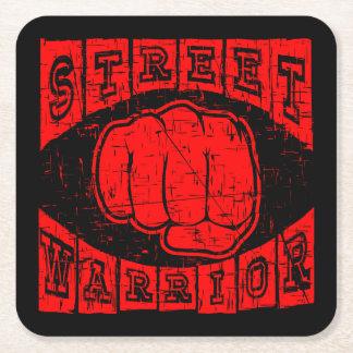 Porta-copo De Papel Quadrado guerreiro da rua