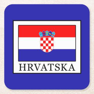 Porta-copo De Papel Quadrado Hrvatska