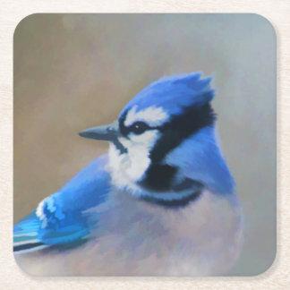 Porta-copo De Papel Quadrado Jay azul