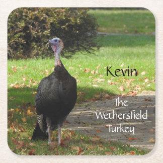 Porta-copo De Papel Quadrado Kevin a Turquia - Wethersfield velho, CT