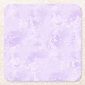 Porta-copo De Papel Quadrado Lavanda, subtil, luz - roxa, elegante, pálida