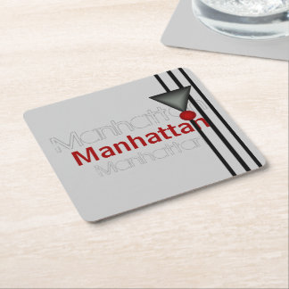 Porta-copo De Papel Quadrado Manhattan