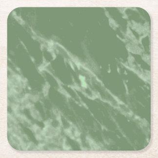Porta-copo De Papel Quadrado Mármore verde