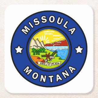 Porta-copo De Papel Quadrado Missoula Montana