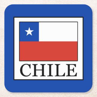 Porta-copo De Papel Quadrado O Chile