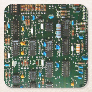 Porta-copo De Papel Quadrado O conselho de circuito impresso do computador