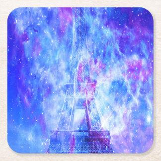 Porta-copo De Papel Quadrado Os sonhos parisienses do amante
