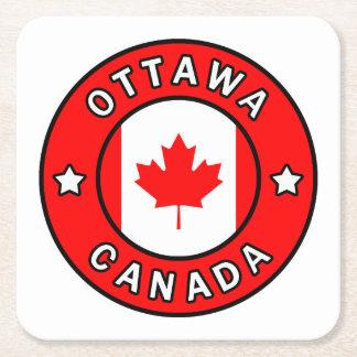 Porta-copo De Papel Quadrado Ottawa Canadá