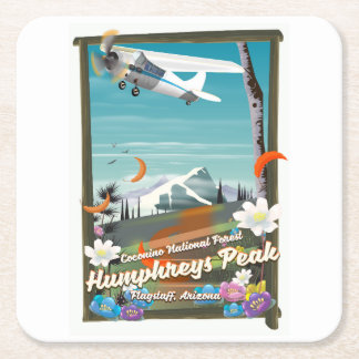 Porta-copo De Papel Quadrado Pico de Humphreys, pico de Humphreys, mastro,