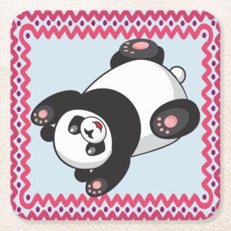 Porta-copo De Papel Quadrado Porta copos da panda