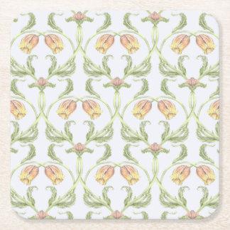 Porta-copo De Papel Quadrado Porta copos da treliça da tulipa