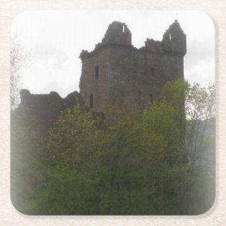 Porta-copo De Papel Quadrado Porta copos do castelo