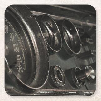 Porta-copo De Papel Quadrado Porta copos velha do papel do painel de Chrysler