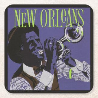 Porta-copo De Papel Quadrado Portas copos do papel de música de Nova Orleães