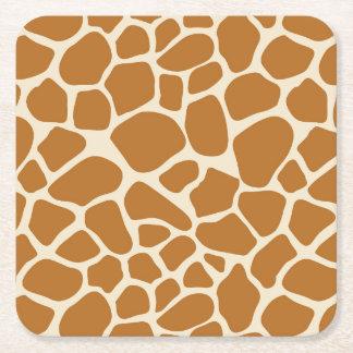 Porta-copo De Papel Quadrado Portas copos do papel do impressão do girafa