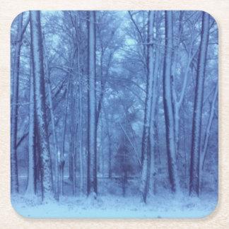 Porta-copo De Papel Quadrado Portas copos do tampo da mesa do inverno da