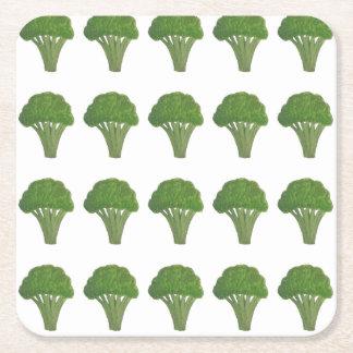 Porta-copo De Papel Quadrado Portas copos dos brócolos