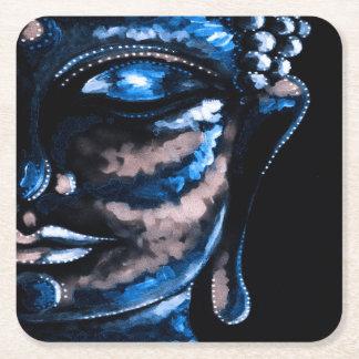 Porta-copo De Papel Quadrado Portas copos quadradas AZUIS de BUDDHA
