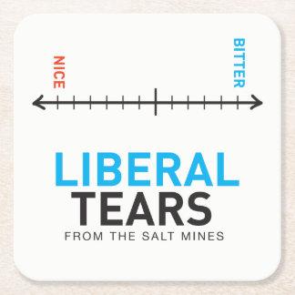 Porta-copo De Papel Quadrado Portas copos quadradas Econo - o liberal rasga o