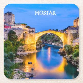 Porta-copo De Papel Quadrado Portas copos quadradas feitas sob encomenda Mostar