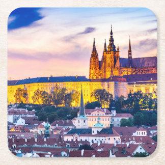 Porta-copo De Papel Quadrado Portas copos quadradas feitas sob encomenda Praga
