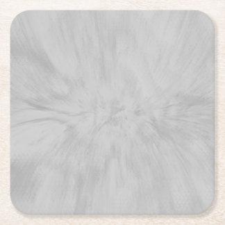 Porta-copo De Papel Quadrado Respingo bonito das cinzas