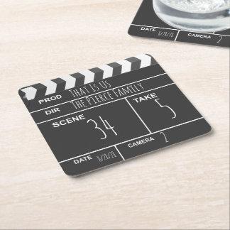 Porta-copo De Papel Quadrado Ripa feita sob encomenda personalizada do filme do