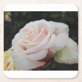 Porta-copo De Papel Quadrado Rosa branco