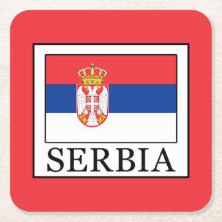 Porta-copo De Papel Quadrado Serbia