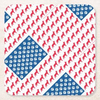 Porta-copo De Papel Quadrado Shepard-Bandeira patriótica
