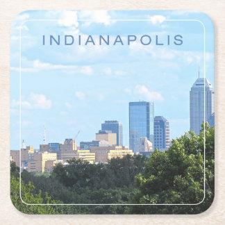 Porta-copo De Papel Quadrado Skyline de Indianapolis