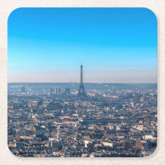 Porta-copo De Papel Quadrado Skyline de Paris
