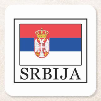 Porta-copo De Papel Quadrado Srbija