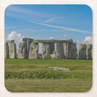 Porta-copo De Papel Quadrado Stonehenge em Inglaterra