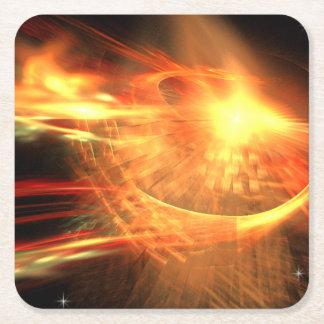 Porta-copo De Papel Quadrado Supernova