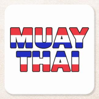Porta-copo De Papel Quadrado Tailandês de Muay