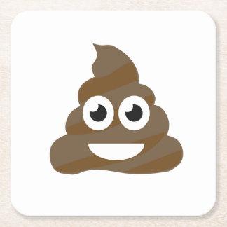 Porta-copo De Papel Quadrado Tombadilho bonito engraçado Emoji
