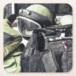 Porta-copo De Papel Quadrado Uniforme do esquadrão da morte
